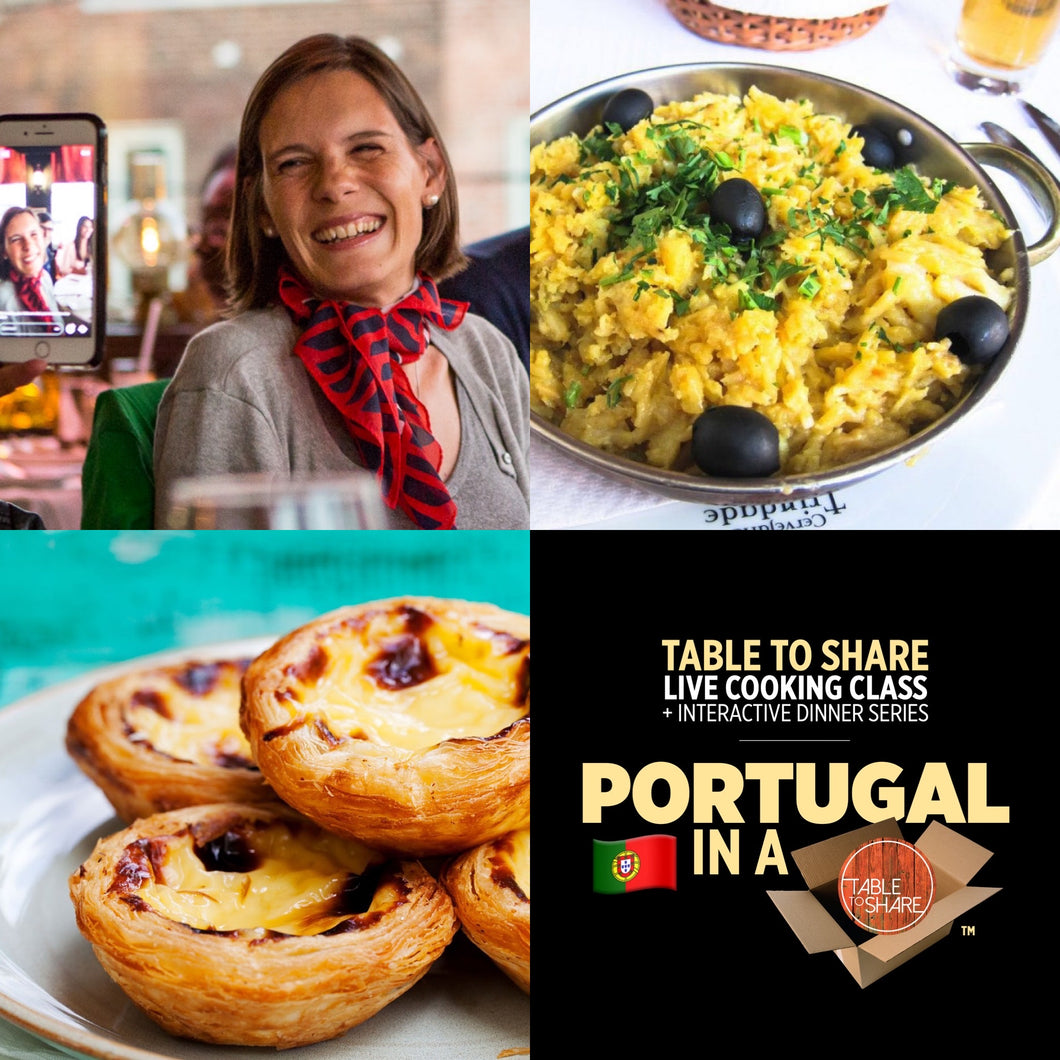 TABLE TO SHARE | Portugal in a Box™