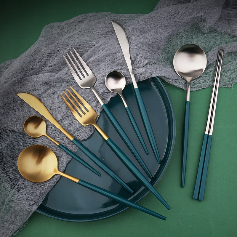 Deluxe Stainless Steel Cutlery Set