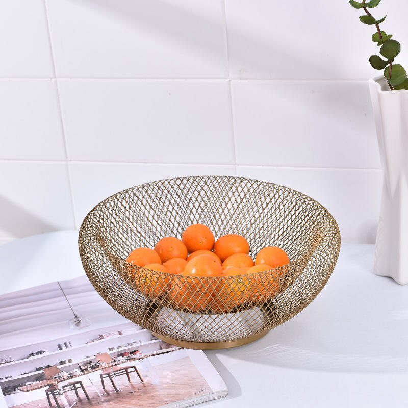 Solid Mesh Fruit Bowl