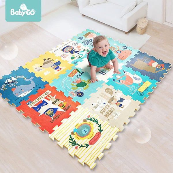 BabyGo Super Soft Foam Play Mat