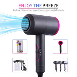 2000W Professional Salon Quality 2 in 1 Hot and Cold Air Hair Dryer