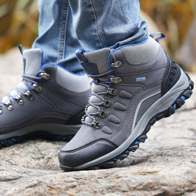 Women's High Top Waterproof Hiking Boots