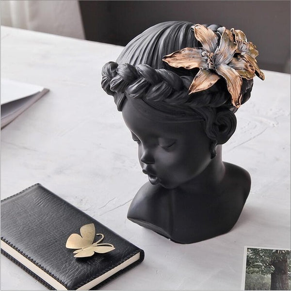 Home Decoration Ornament Bust