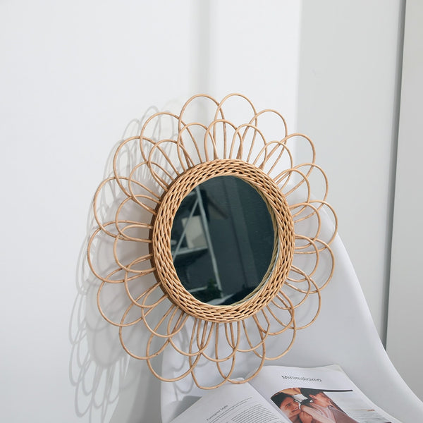 Salvada Rattan Wall Mirror