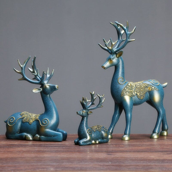 High Precision Ceramic Deer Ornaments