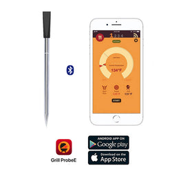 Smart Wireless Kitchen Thermometer With Free App