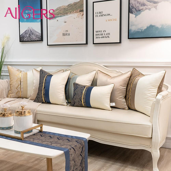 Algers Luxury Handmade Embroidered Cushion Covers