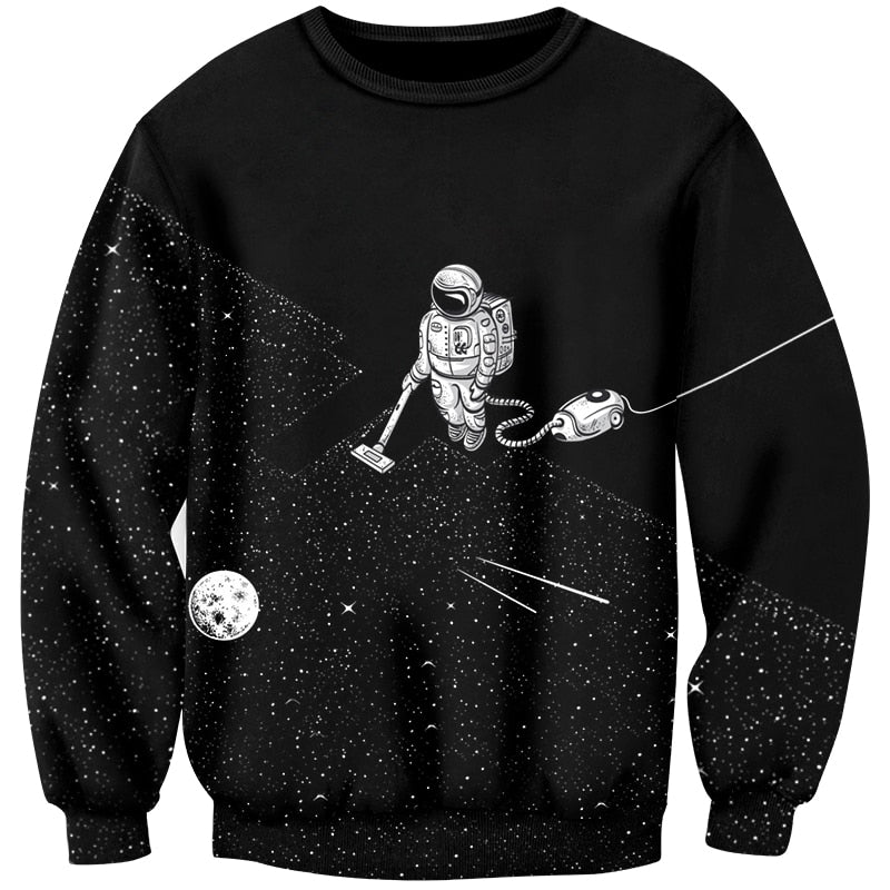 Men's Premium Spaceman Sweatshirt