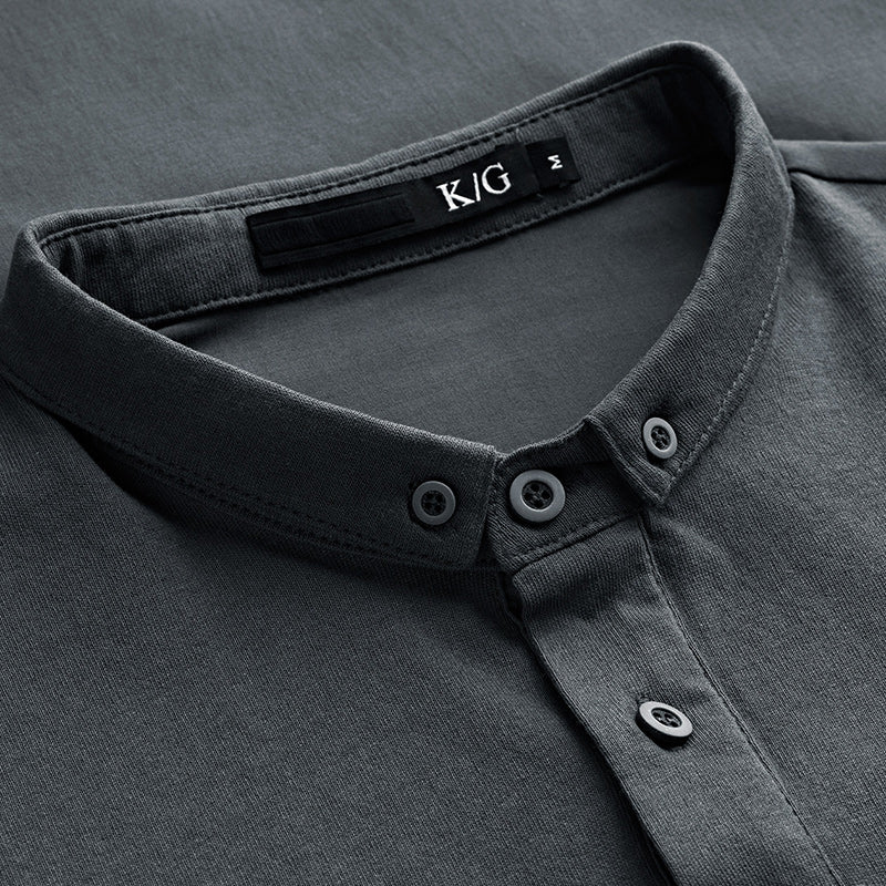 Men's Premium Slim Fit Polo Shirt
