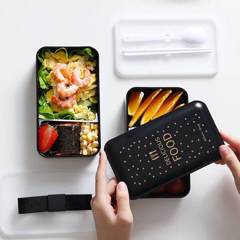 Bento 1200ml Leakproof Microwaveable Lunch Box