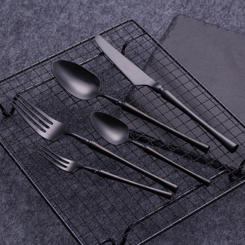 Stygianware 30 Piece Stainless Steel Cutlery Set