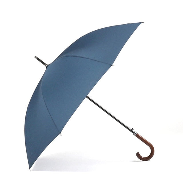 Parachase Large Wooden Windproof Umbrella