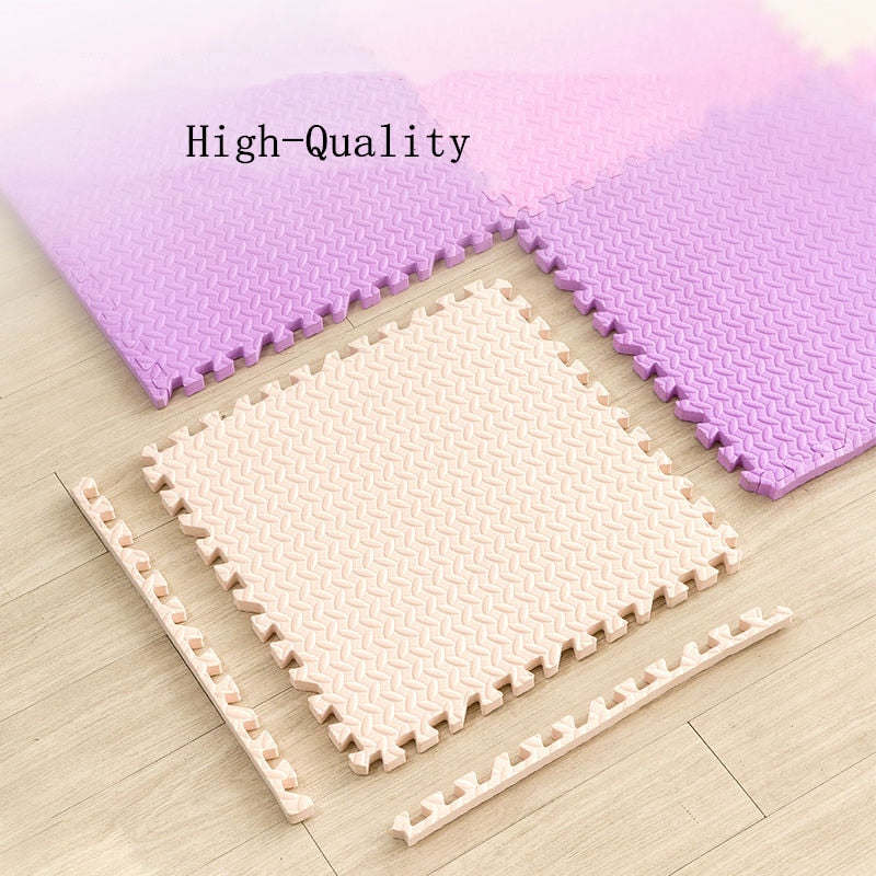 10 Piece Super Soft Baby Mat