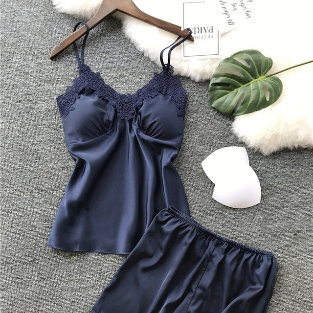 Luxury Lace Pyjamas Set