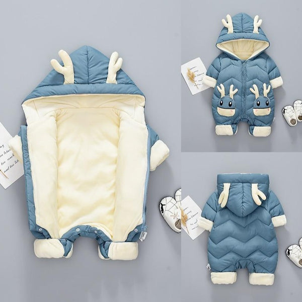 Breathable and Cosy Baby Jumpsuit -  Sizes Ranging From 6 Months - 3 Years