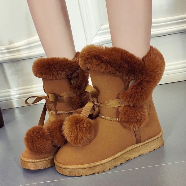 Extra Soft Plush Winter Boots