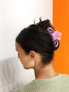 Flower Hairclip - Baby Pink