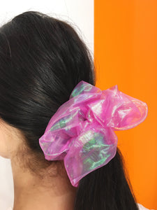 Large Scrunchie - Hot Pink
