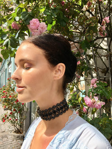 Simi Party Choker - Sort