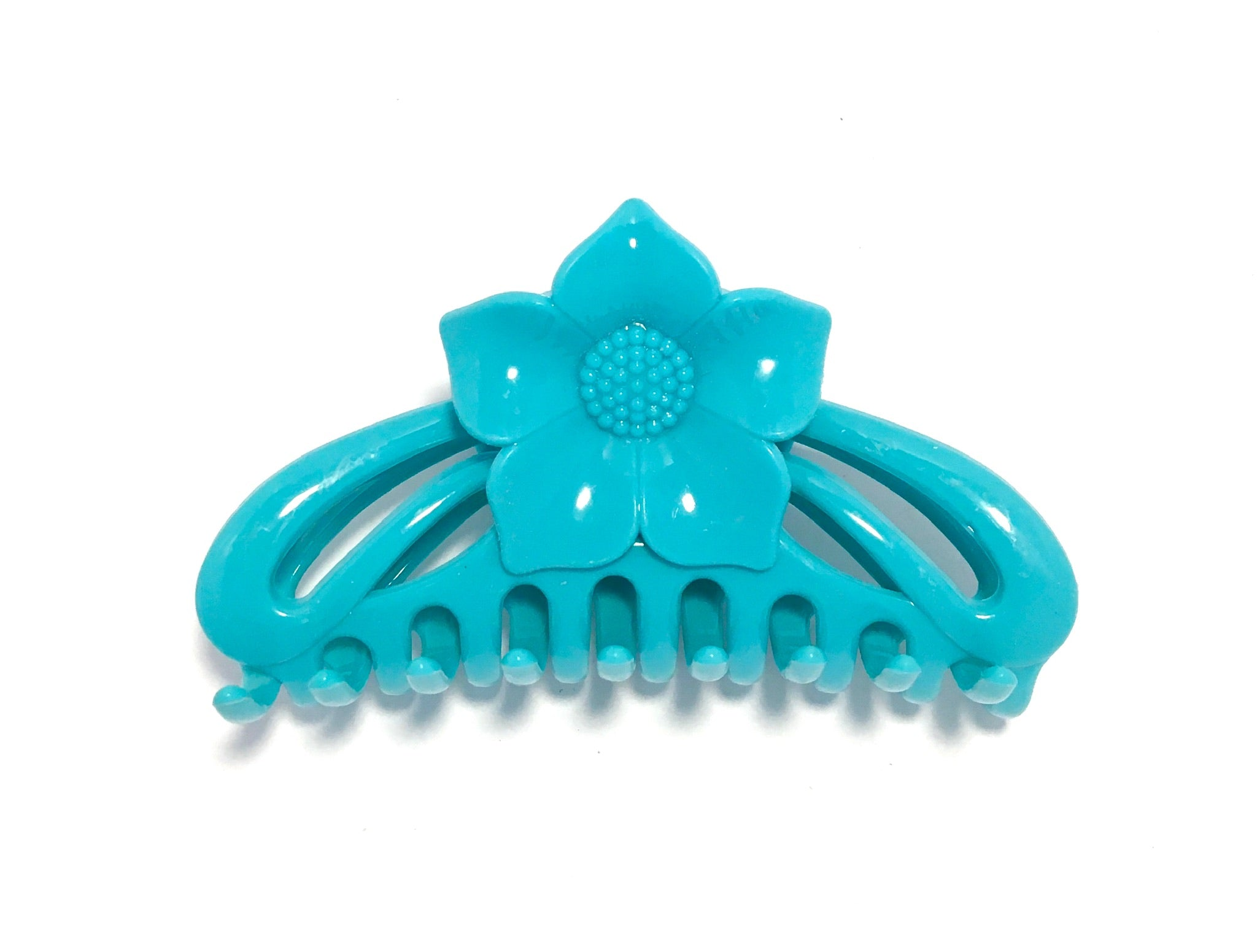 Flower Hairclip - Blue