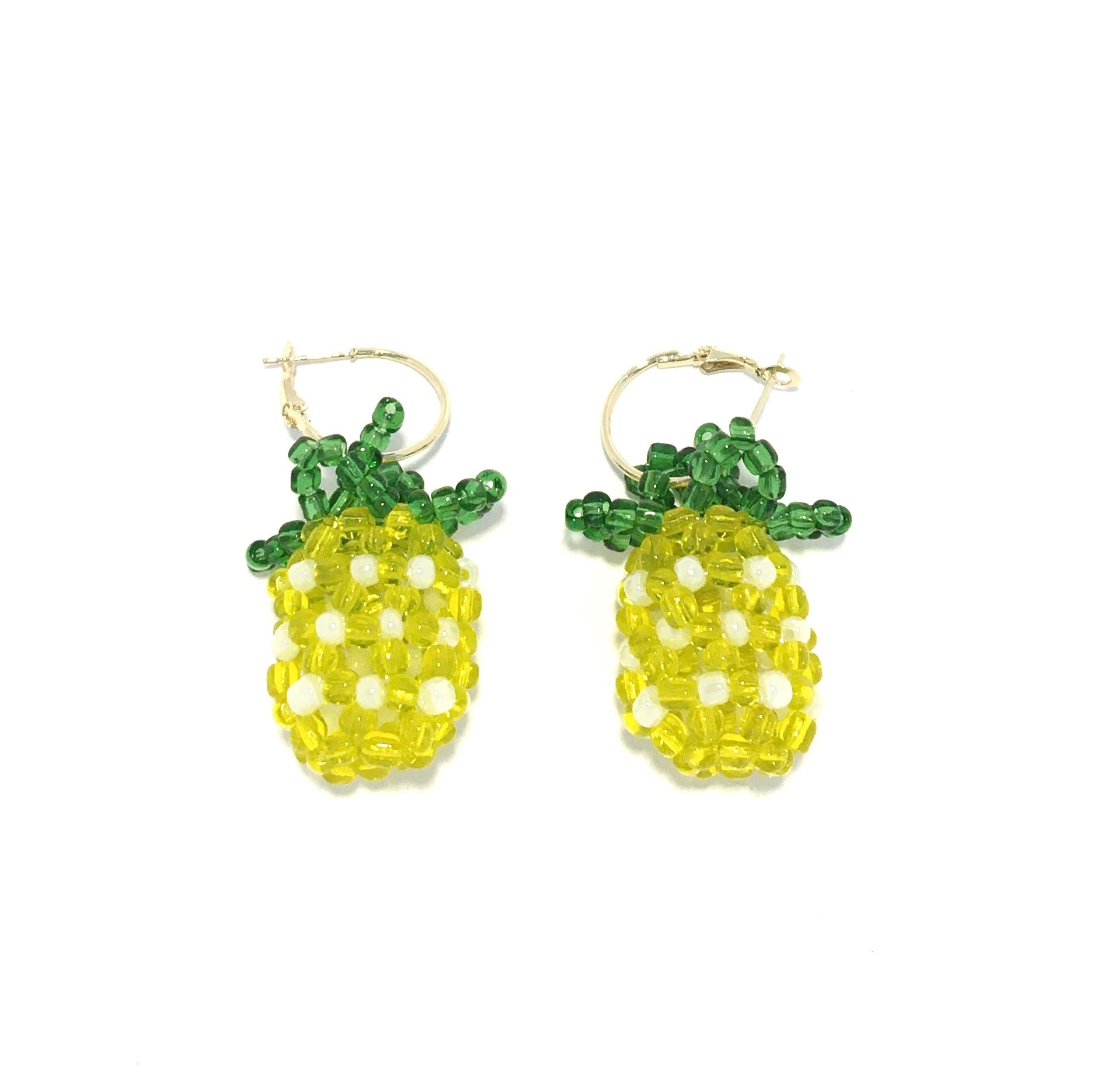 Beaded Pineapple Creol