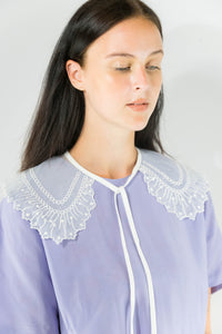 Collar - Single Lace White