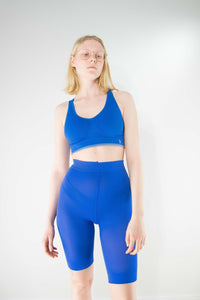 Micro Shorts - Crown Blue