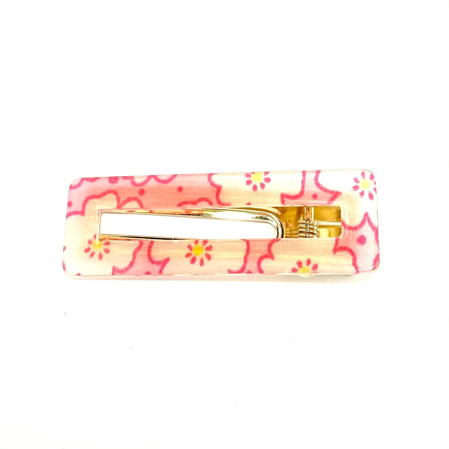 Flower Power Hairclip - Pink