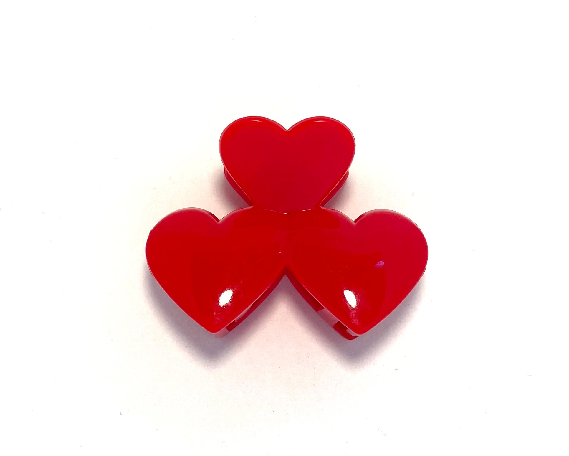 Heart Hairclip - Red