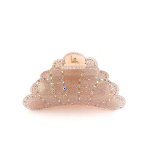 Cloudburst Hairclip - Light Rose