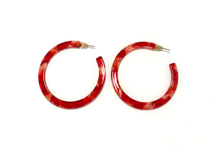 Thin Acrylic Hoops