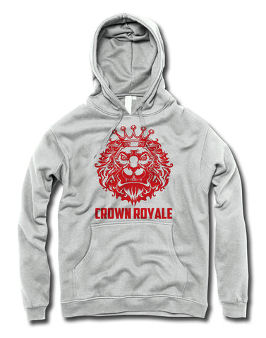 King of Kings Hoodie (White & Red)