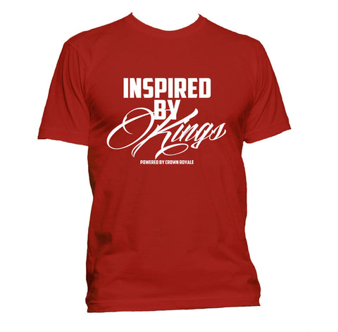 Inspired By Kings Tee (Red & White)