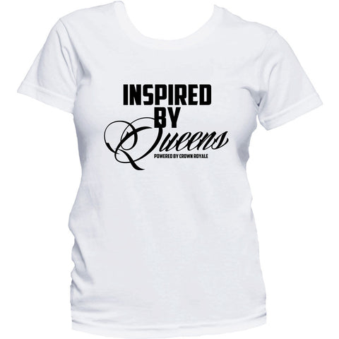 Inspired By Queens Tee (White & Black)