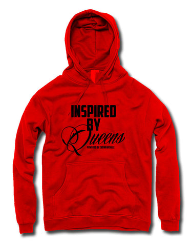 Inspired By Queens Hoodie (Red & Black)