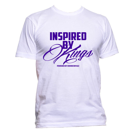 Inspired By Kings (White & Purple)