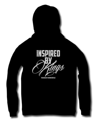 Inspired By Kings Hoodie (Black & White)