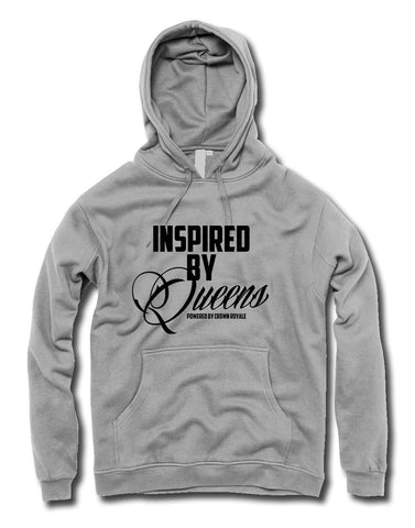 Inspired By Queens Hoodie (Grey & Black)