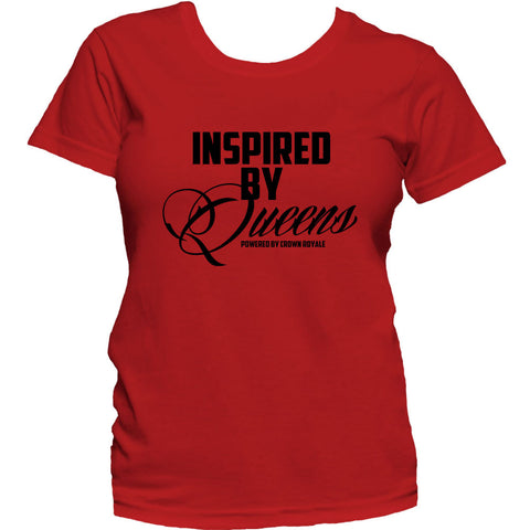 Inspired By Queens Tee (Red & Black)
