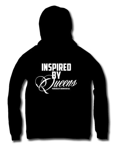 Inspired By Queens Hoodie (Black & White)