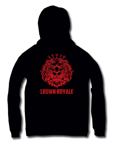 King of Kings Hoodie (Black & Red)