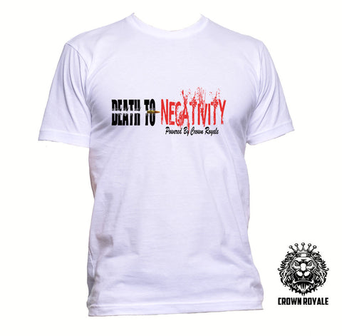 Men's Death To Negativity Tee