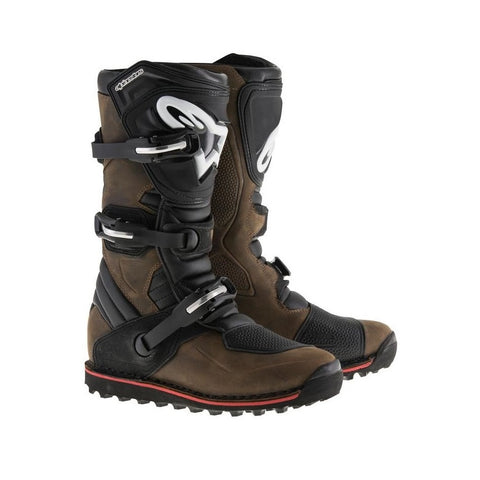 ALPINESTARS BOOTS TECH-T BROWN OILED