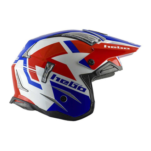 HEBO HELMET ZONE 4 BALANCE RED