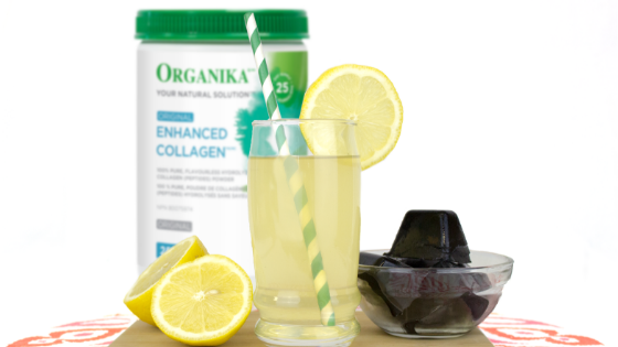Charcoal and Collagen Lemonade Recipe