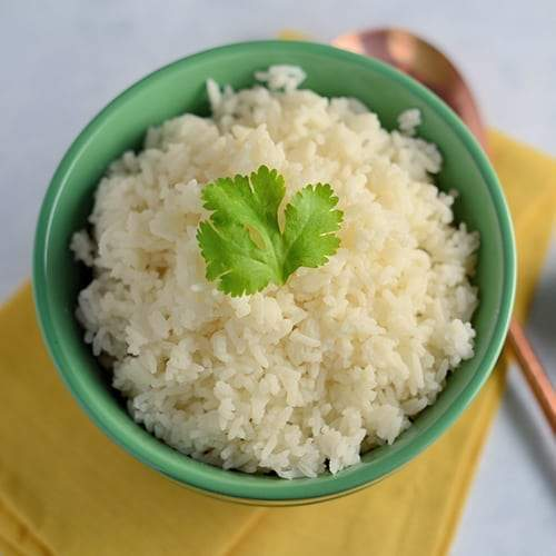 Easy Ginger Coconut Rice