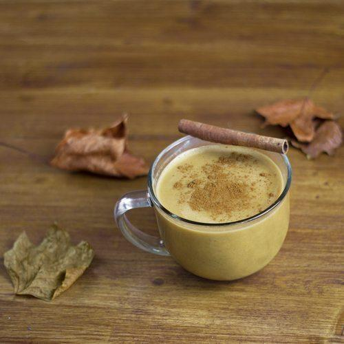Homemade Pumpkin Spice Latte with Maca