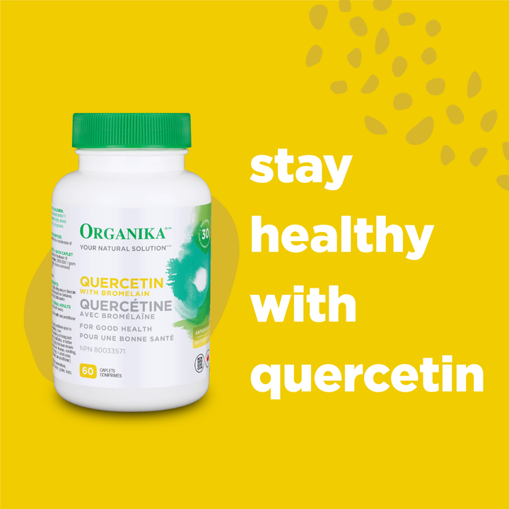 Enhance your immunity with Quercetin