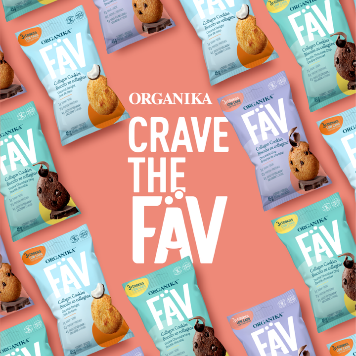 Introducing our FÄV Collagen Cookies!