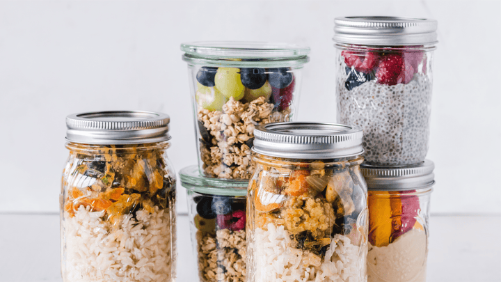 How can meal planning help you settle into a routine?
